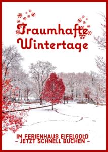 traumhafte wintertage